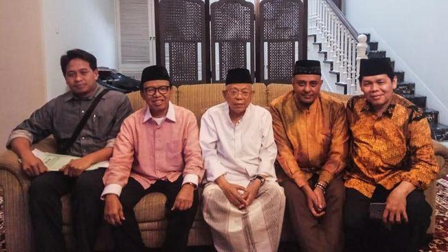 Ketua GNPF Ulama Yusuf Martak Temui Ma'ruf Amin