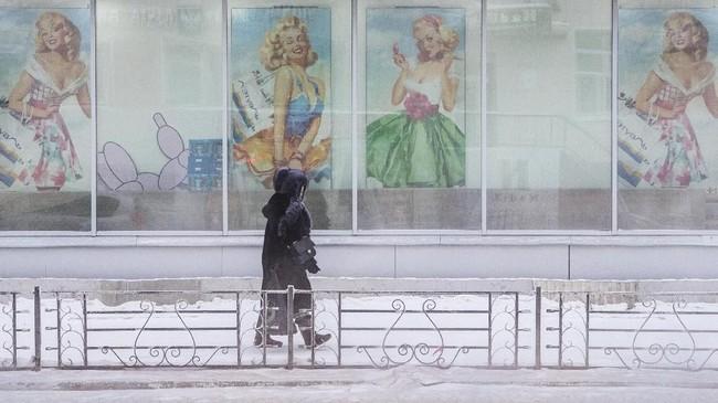 Nyaris tidak ada penduduk yang menghabiskan banyak waktu di luar ruangan, mengingat dinginnya kota ini.