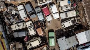 FOTO: Kisah Mobil Klasik Eropa di Madagaskar