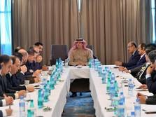 Saat Menteri Saudi Temui Pemimpin Redaksi Media Aljazair