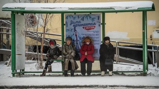 Bulan Januari menjadi momen terdingin di kota ini.