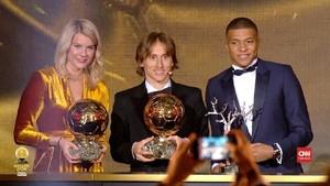 VIDEO: Modric Sebut Alasan Messi-Ronaldo Tak Raih Ballon d'Or