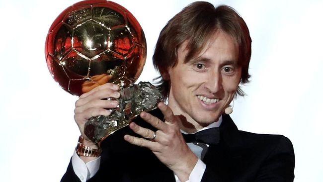 Selusin Ballon d'Or Pernah Diraih Pemain Real Madrid