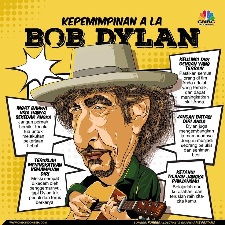 Yuk! Belajar Kepemimpinan dari Penyanyi Bob Dylan