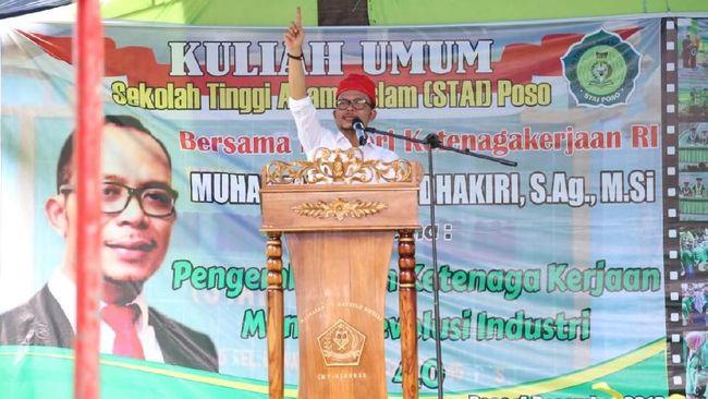 Menteri Hanif Minta Warga Poso Bersatu