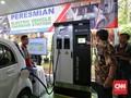 2 Stasiun 'Fast Charging' Diresmikan di Indonesia