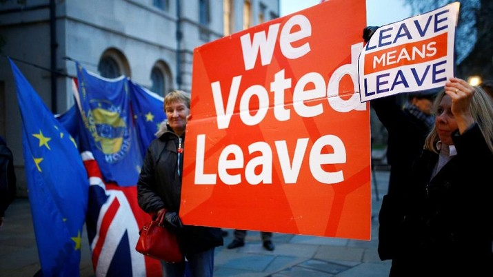 Proposal PM Inggris Hancur Lebur, Bagaimana Nasib Brexit?