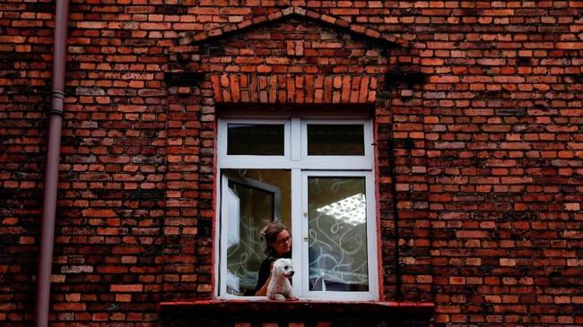 Kota Katowice menjadi sarang penjahat saat industri batu bara perlahan-lahan meredup. (REUTERS/Kacper Pempel).
