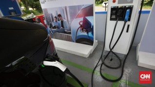 PLN Akan Bangun Stasiun Pengisian Mobil Listrik di Empat Kota