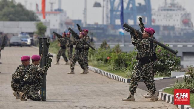 Sejarah Hari Armada dimulai pada awal periode perang kemerdekaan. (CNN Indonesia/Adhi Wicaksono)