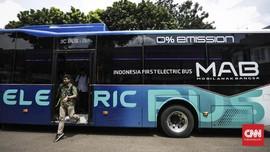Komponen Bus Listrik MAB Tanam Investasi di Morowali
