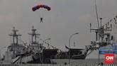 Sejak pengakuan kedaulatan NKRI, Armada RI secara bertahap mulai menambah kekuatannya dengan menerima penyerahan kapal dari Belanda dan pengadaan dari negara-negara lain. (CNN Indonesia/Adhi Wicaksono)