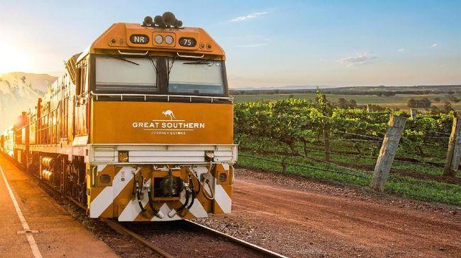 Layanan Kereta Mewah Lintasi Rute Adelaide ke Brisbane