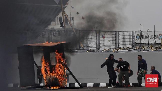 Saat itu, kekuatan Armada masih berupa kapal-kapal kayu dan perahu dengan persenjataan yang sangat sederhana. (CNN Indonesia/Adhi Wicaksono)