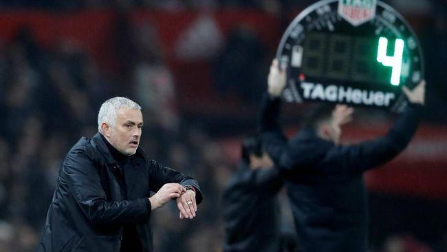 Man Utd Imbang, Mourinho Sempat Sindir Pemain Malas