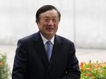 Trump 'Matikan' Bisnis Huawei, Pendirinya Angkat Bicara