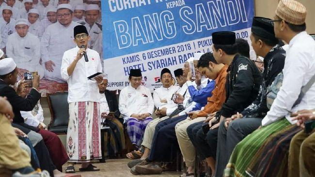 Gerindra Sebut Wajar Sandiaga Jual Saham untuk Biaya Kampanye