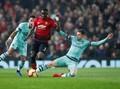 Manchester United vs Arsenal Imbang di Babak Pertama