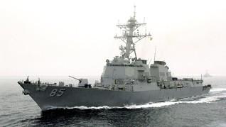 Kapal Perang AS Berlayar di LCS saat Negosiasi Perang Dagang