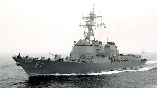 Tantang Rusia, Kapal Perang AS Berlayar di Laut Jepang