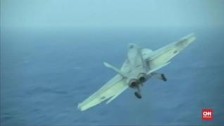 VIDEO: Pesawat Tempur AS Tabrakan, Tujuh Tentara Hilang
