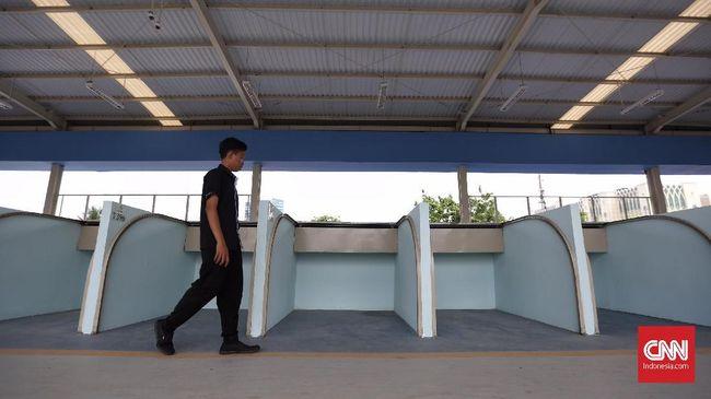 Skybridge Tanah Abang Bisa Dilalui Pejalan Kaki Hari Ini