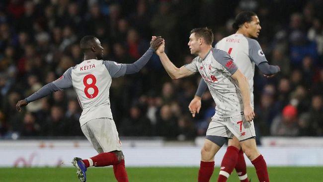 Liverpool Menang, Chelsea Kalah di Liga Inggris