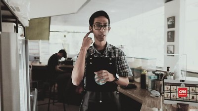 VIDEO: Mimpi Besar Erwin, Barista Tuli Pertama di Jakarta