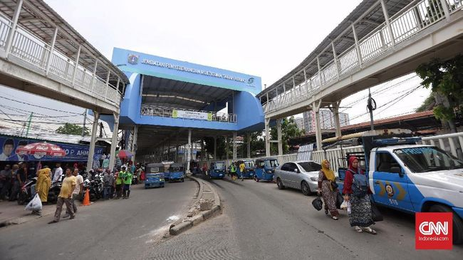 Tiga Halte Transjakarta Dibangun Dekat Skybridge Tanah Abang