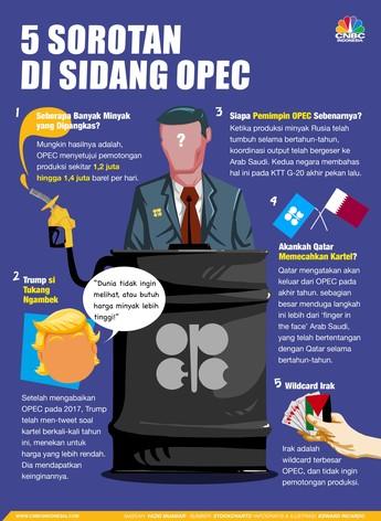 Catat, Ini 5 Sorotan di Sidang OPEC