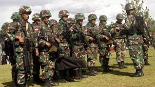 Prajurit TNI Terluka dalam Baku Tembak di Puncak Jaya