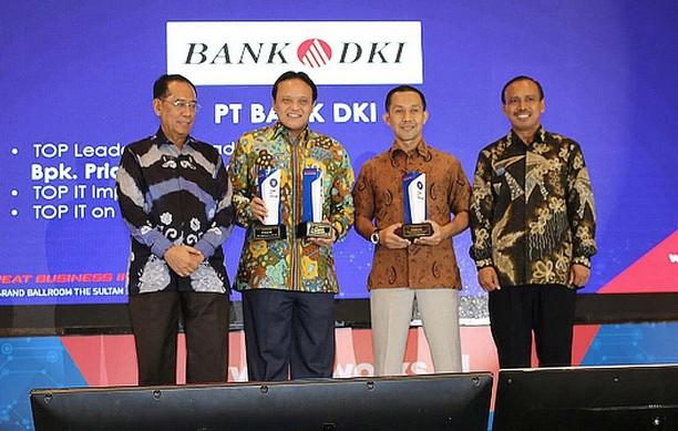 Bank DKI Raih Penghargaan Bergengsi