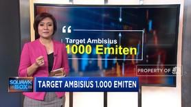 BEI Bidik 1.000 Emiten Melantai di Bursa