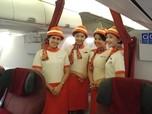 Keren! Ini Penampakan Pramugari 'Old Style' Garuda Indonesia