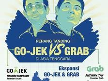 Grab dan Gojek Bersaing di Fitur Booking Tiket & Hotel