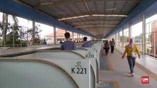 VIDEO: Menjajal Skybridge Tanah Abang