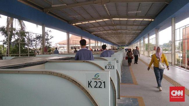 Antusiasme Para Pedagang akan Tempati Kios di Skybridge