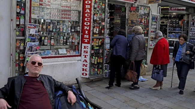 """Selama ini Gibraltar menjadi """"perebutan"""" antara Spanyol dan Inggris. Setelah Brexit, nasib negara indah ini semakin terombang-ambing. (REUTERS/Jon Nazca)"""