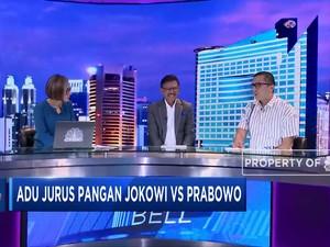 Adu Jurus Pangan Jokowi-Prabowo