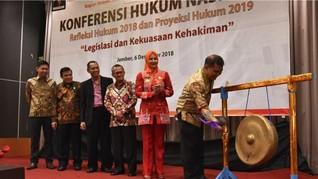 Konferensi Hukum Nasional Bahas Legislasi dan Kekuasaan Hakim