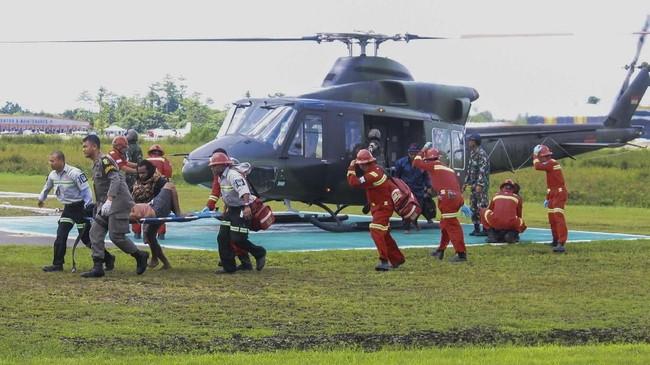 Korban Selamat Penembakan di Papua Temui Keluarga di Bandung