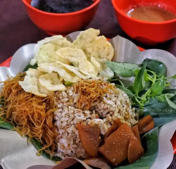 Biar Makin Nikmat, Awali Hari Jumat dengan Sarapan Nasi Ulam