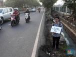 Darurat Trotoar, Koalisi Pejalan Kaki Tamasya di Trotoar