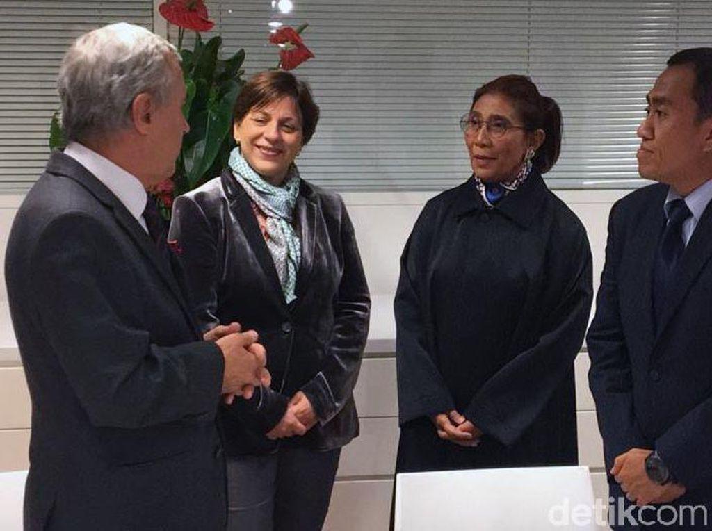 Momen Susi Saksikan Kerja Sama RI-Monaco Jaga Terumbu Karang