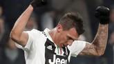 Mario Mandzukic sudah mencetak tujuh gol untuk Juventus di kompetisi Liga Italia musim ini. (REUTERS/Stefano Rellandini)