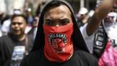Menurut perhitungan Kepolisian Diraja Malaysia, aksi unjuk rasa itu diikuti sekitar 50 ribu orang. (Photo by Mohd RASFAN / AFP)