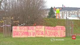 VIDEO: Perancis Bersiap Aksi Rompi Kuning yang Lebih Membara