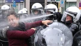 Demo Rompi Kuning Tiruan di Belgia, 70 Ditangkap