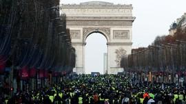 Usai Dijarah dan Dirusak, Arc de Triomphe Dibuka Kembali