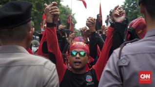 Sembilan Orang Masih Ditahan Polisi, Massa Buruh Siapkan Aksi